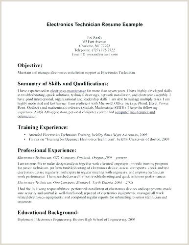 electronics technician resume samples – growthnotes