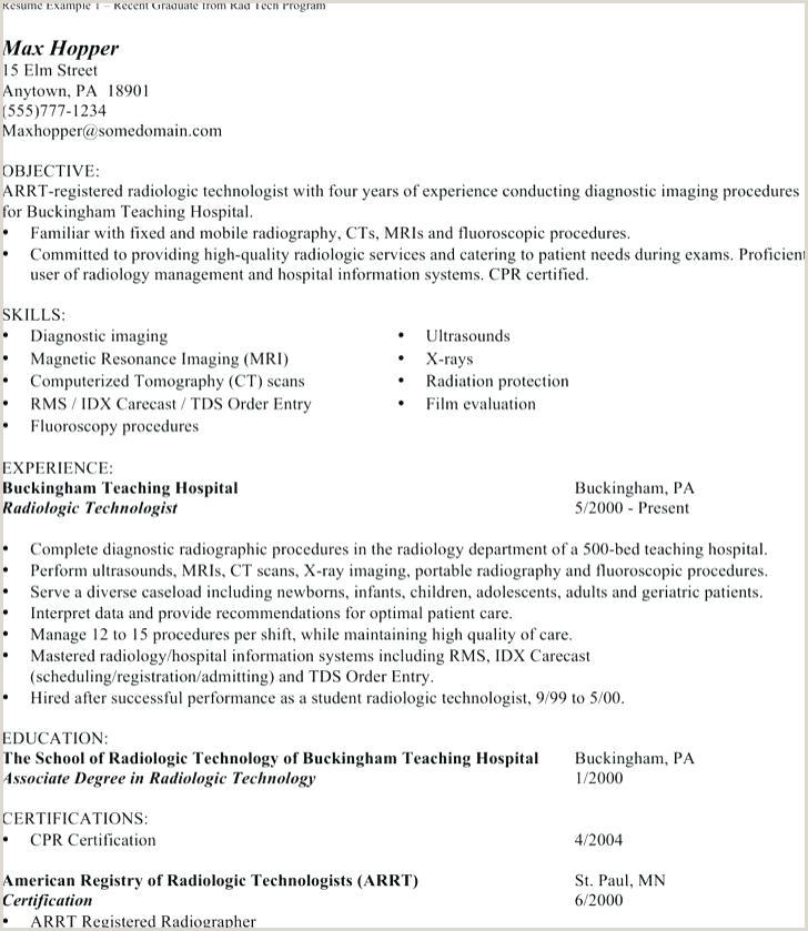 rad tech resume samples – newskeyfo