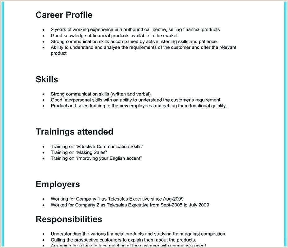 Sample Resume for Call Center Agent Applicant without Experience Call Center Resume Template – Hitachicustomersupportfo