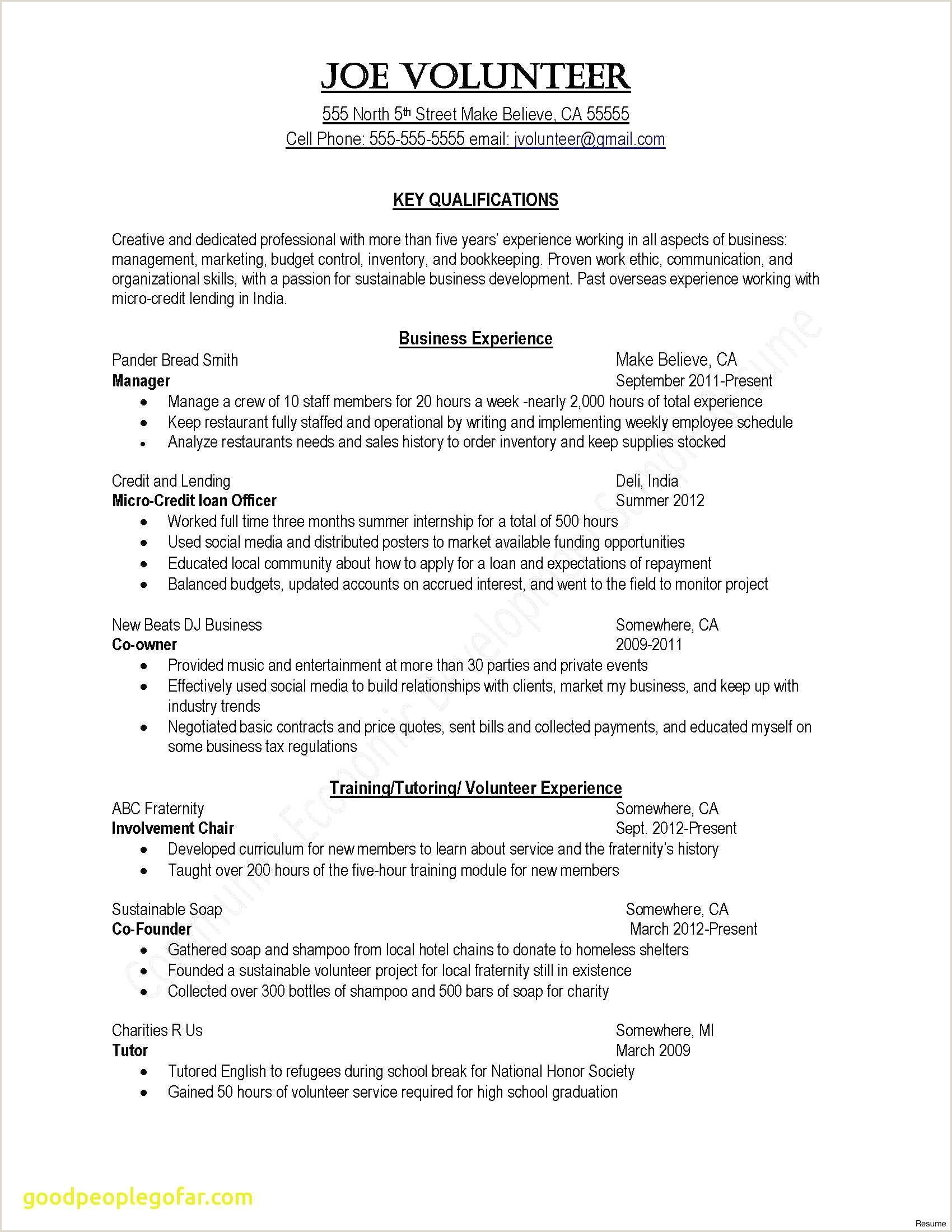 Sample Resume for Child Care Beautiful Child Care Letter — Kenbachor Kenbachor