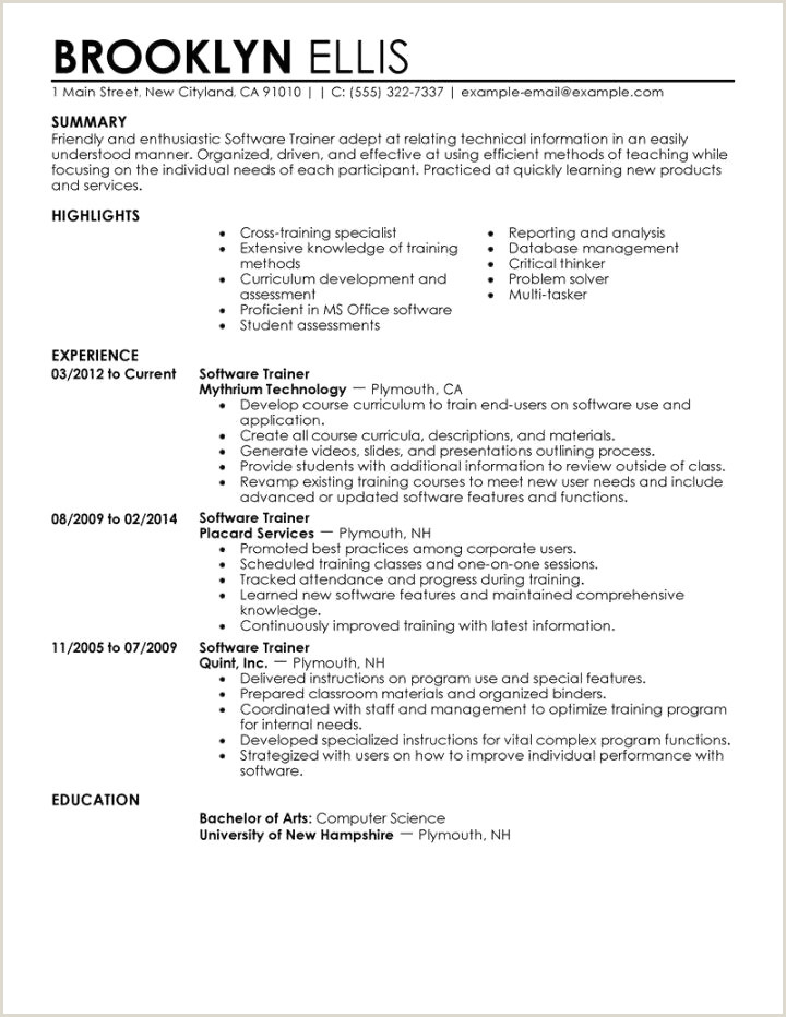 Sample Resume for Child Care Educator Cv Baby Sitting échantillon Cv Baby Sitter Resume for