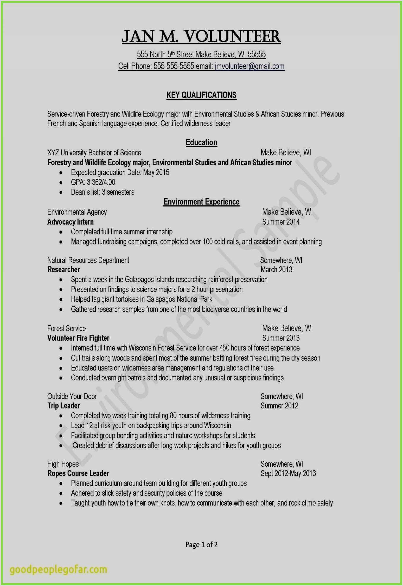 Sample Resume for Counseling 67 Awesome Stock Sample Resume for High School Guidance