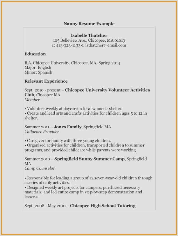 Sample Resume for Counseling Beautiful Resume Volunteer Examples