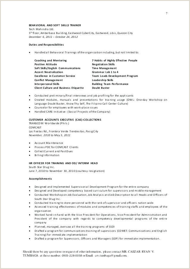 Cover Letter Samples for Call Center Customer Service Unique