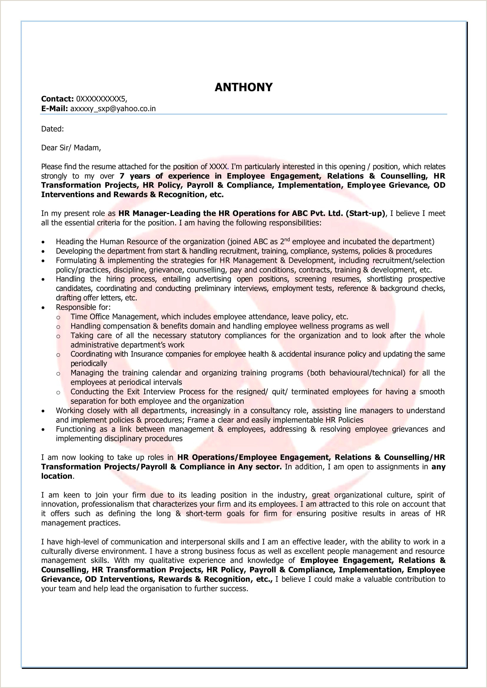 Sample Resume for Elementary Teacher How to End A Resume Sample