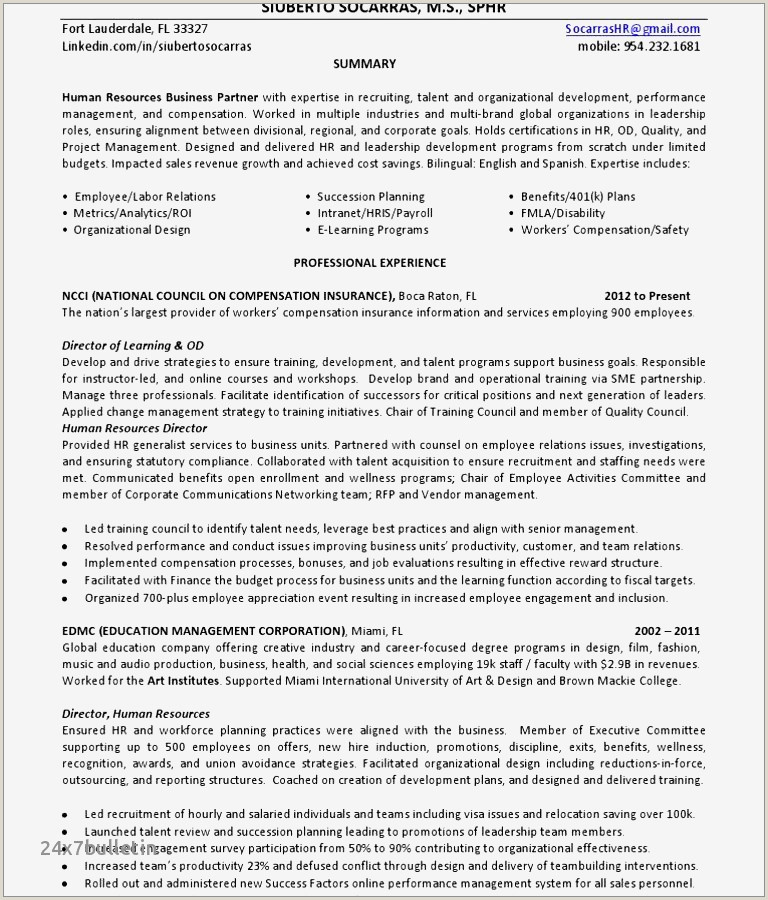 Sample Resume for Teachers Freshers Cv format for English Teacher Job Großartig Sample Resume