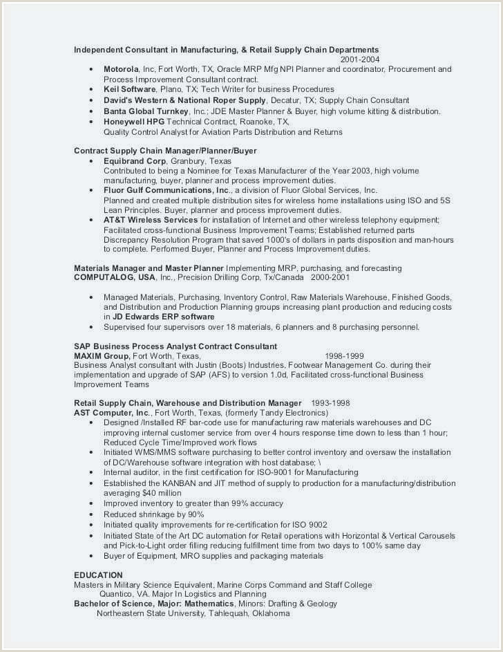 Cv Factory Exemple 20 Sample Resumes for Factory Workers