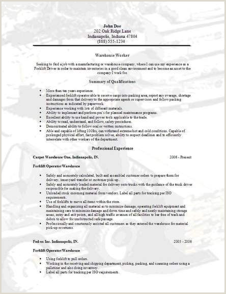 Sample Resumes for Warehouse Workers Pin by Free Printable Calendar On Free Sample Resume