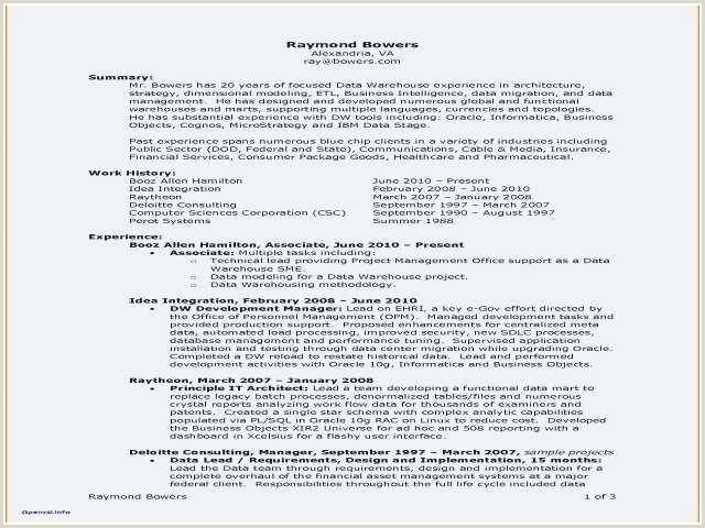 Resume Examples for Warehouse associate Inspirational Resume