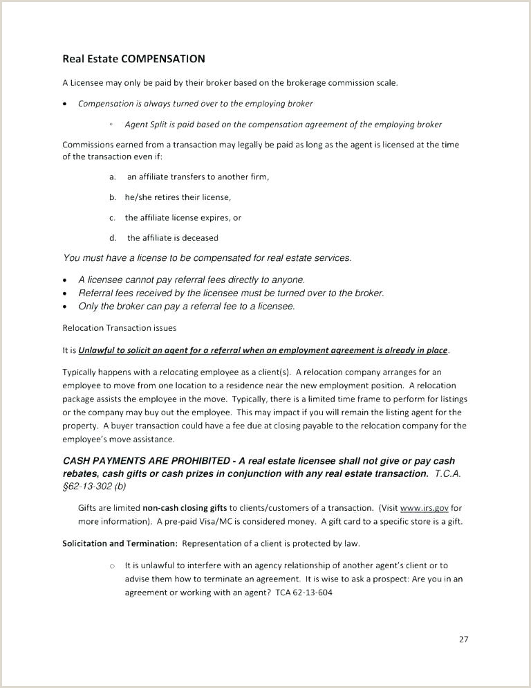 Sample Retainer Agreement Real Estate Referral Fee Agreement Template
