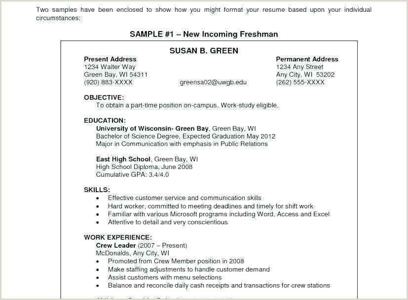 Best Example Resume