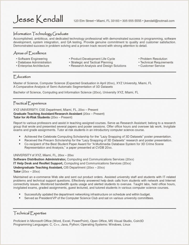 Sample Scholarship Resume Des Idées assistant En Architecture