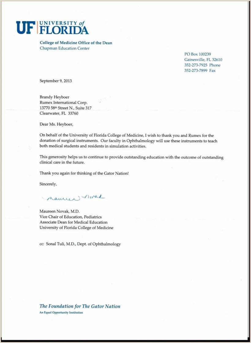 10 church thank you letter for donation