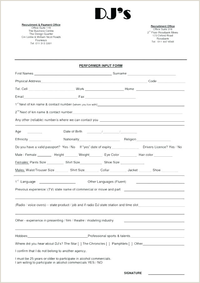 Sample Wedding Dj Contract Contract Template Free Unique Contract Contract Template