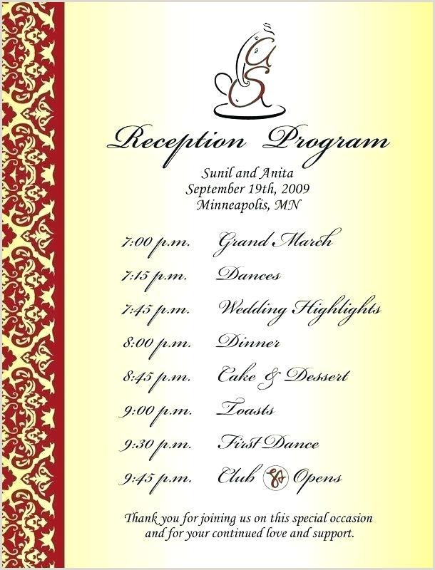 Sample Wedding Programs Wording Sample Wedding Program Wording Examples Templates – Jwintz