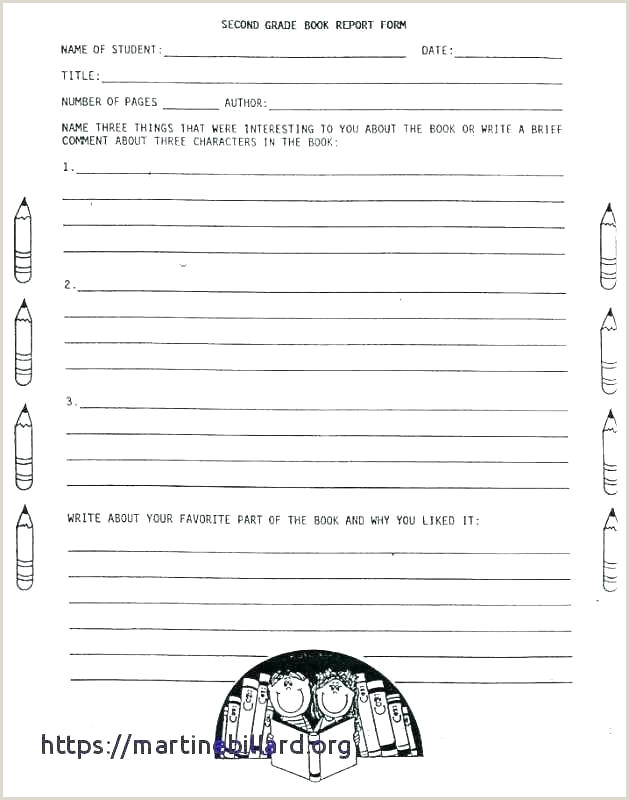 Non Fiction Book Report Template Research Elementary School