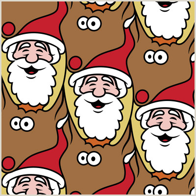 73 Awesome Santa Claus Face Clipart