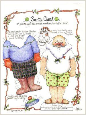 Casual Santa LUTKE OD PAPIRA