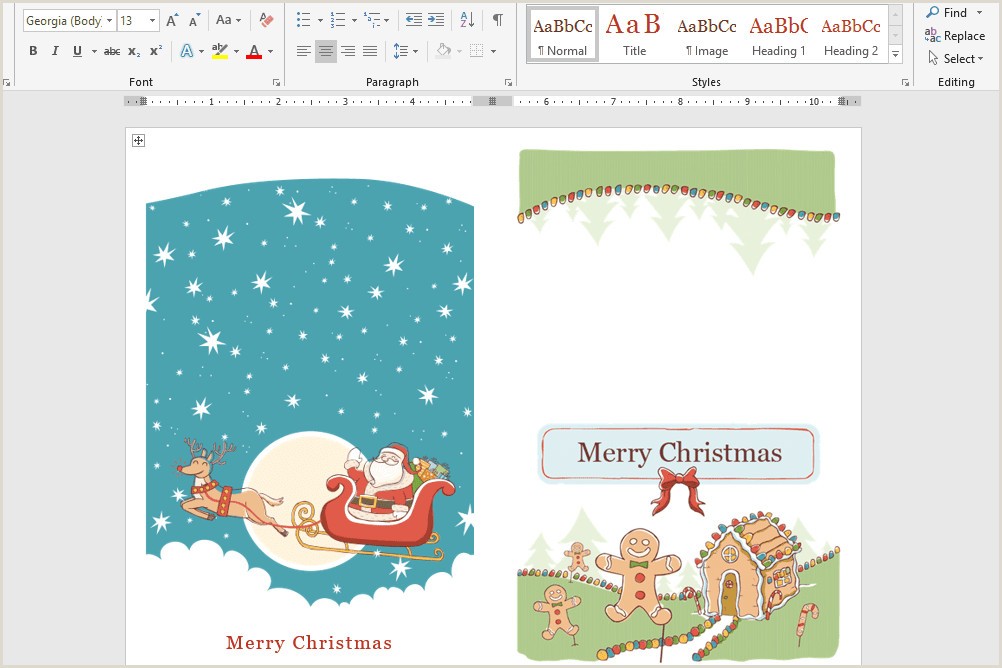 Microsoft s Best Free DIY Christmas Templates for 2019