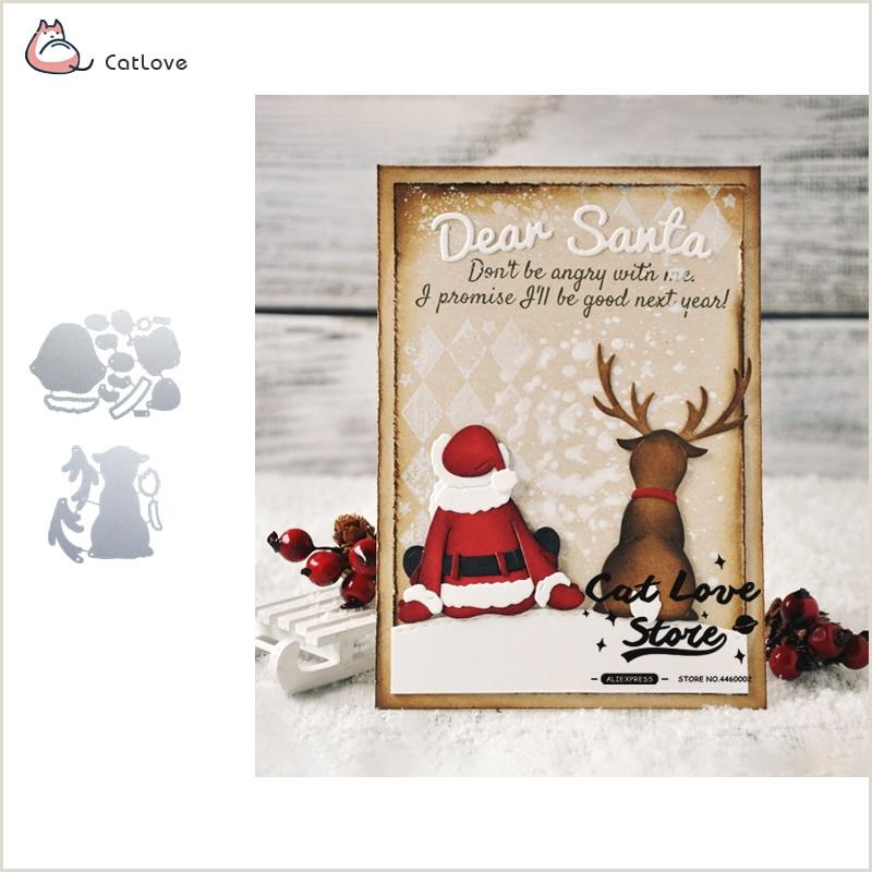 Santa Claus Patterns Printable Santa Stop Here Indicator Signs Metal Cutting Dies for