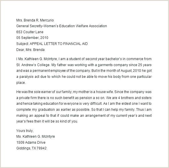 Sap Appeal Letter format Job Suspension Appeal Letter Template Free