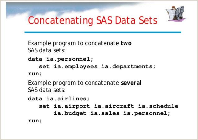 Sas Length Statement Sas Internal Training