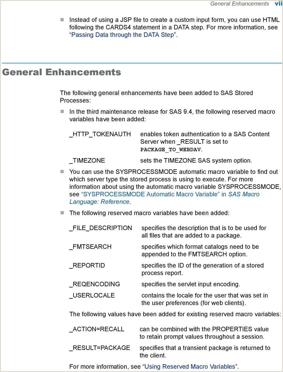 Sas Rename Statement Sas 9 4 Stored Processes Developer S Guide Third Edition