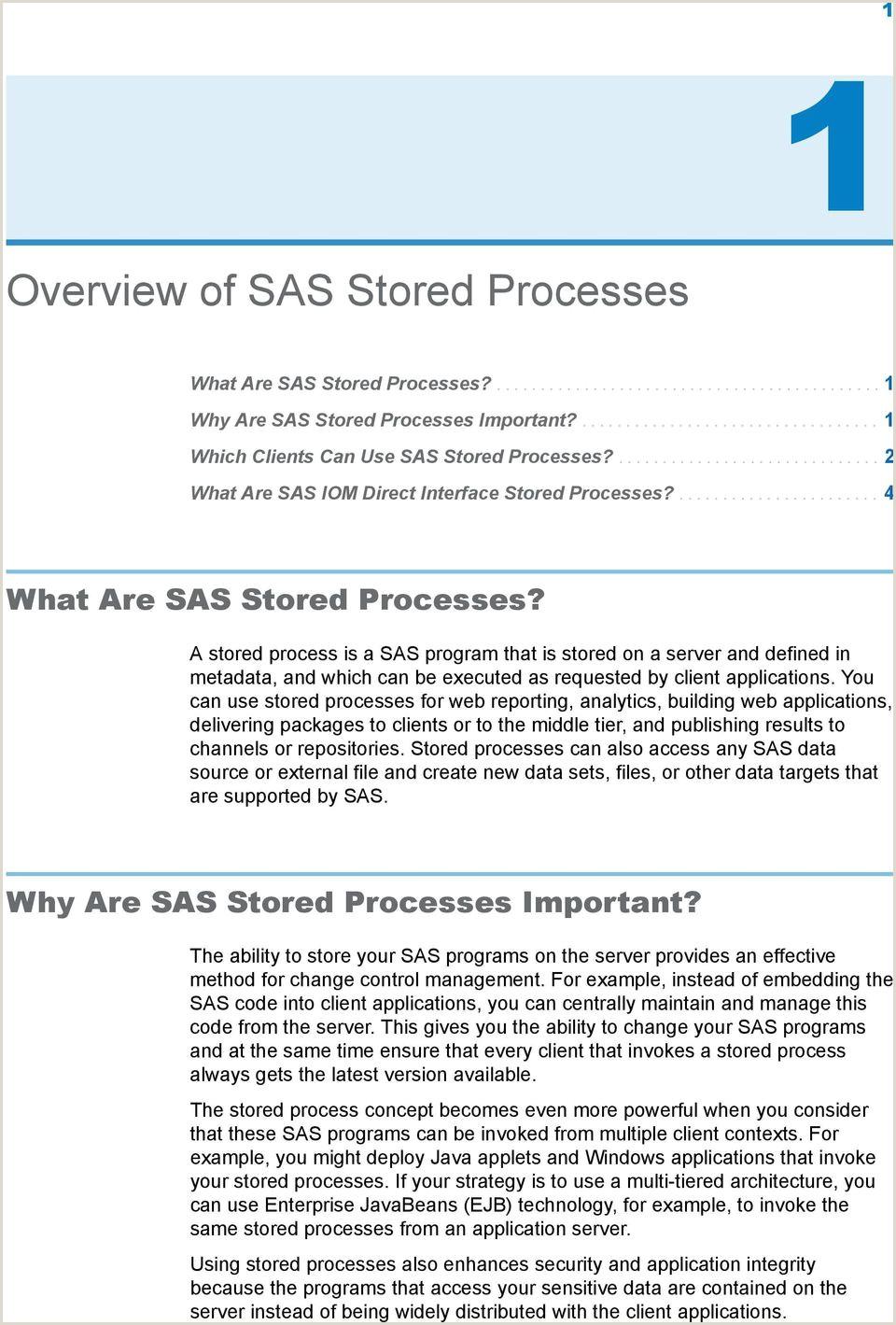 SAS 9 4 Stored Processes Developer s Guide Third Edition