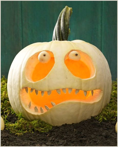 16 Pumpkin Faces to Carve Paint or Decorate for Halloween 2019