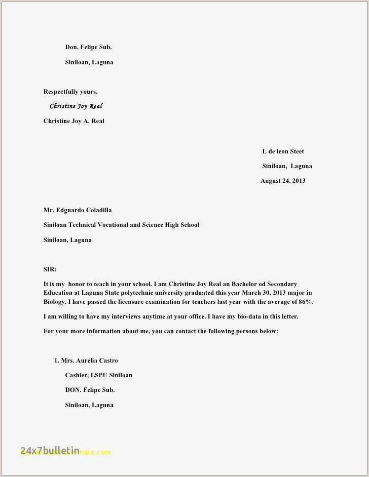 School Counseling Cover Letter Sample 26 Inspirational