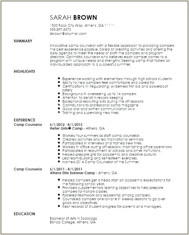 Licensed Professional Counselor Resume Sample Best Spa