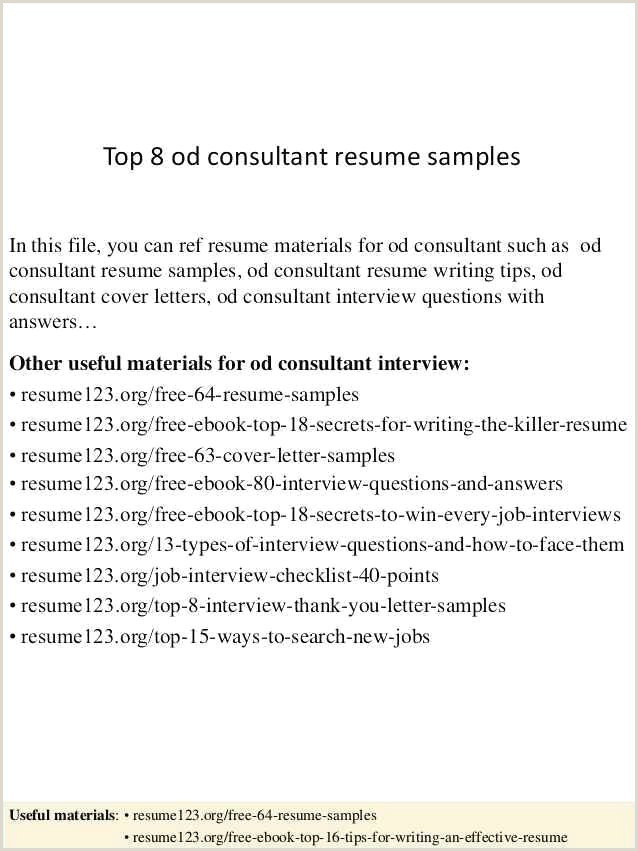 School Counselor Resume Examples Best Guidance Counselor