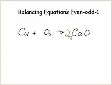 Science Balancing Equations Worksheet Balance Chemical Equations solutions Examples Videos