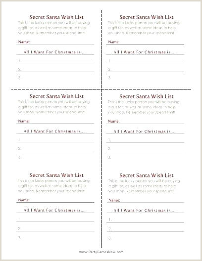 secret santa list template – M2dynamics