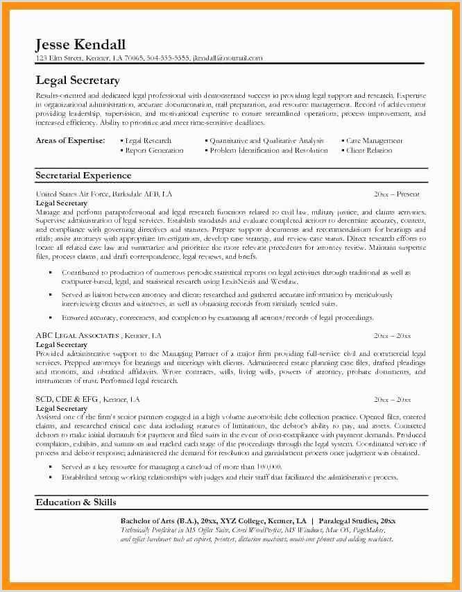 Lovely Resume Examples for Secretary