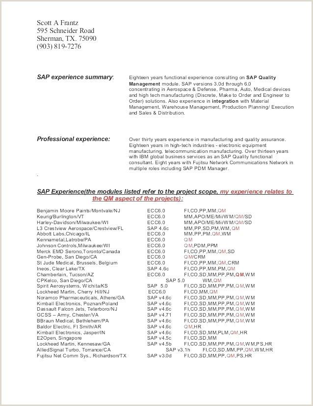 Sample Resume for Secretarial Professional 31 Inspirational