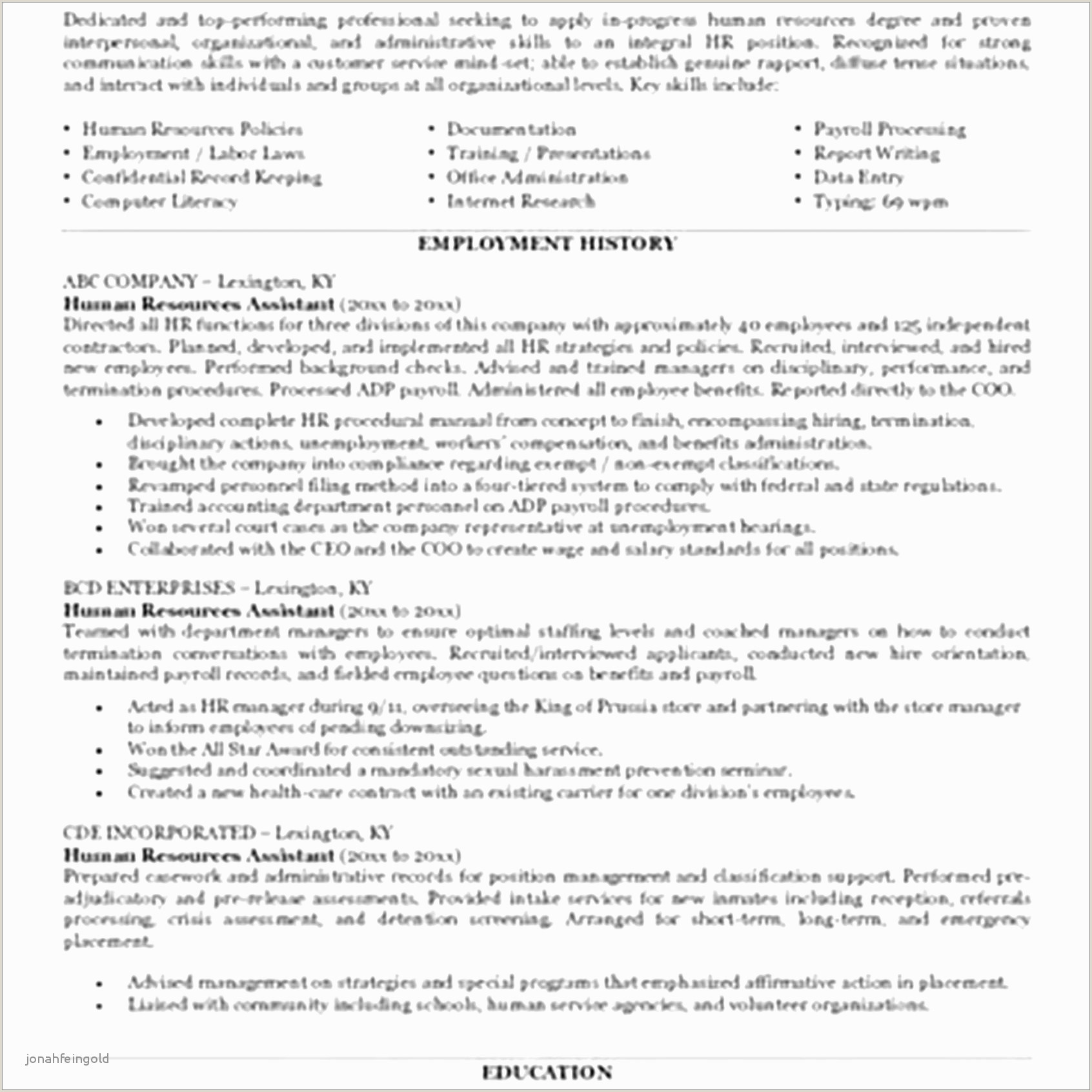 Secretary Resume Examples Resume Examples Administrative assistant Free Executive