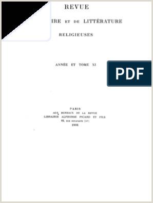 Revue d histoire et de littérature religieuses 11 1906