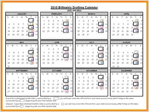 5 Semi Monthly Payroll Calendar 2016 – Vandenberg Simple