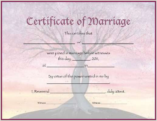 Want to Marriage certificate here are rules and easy