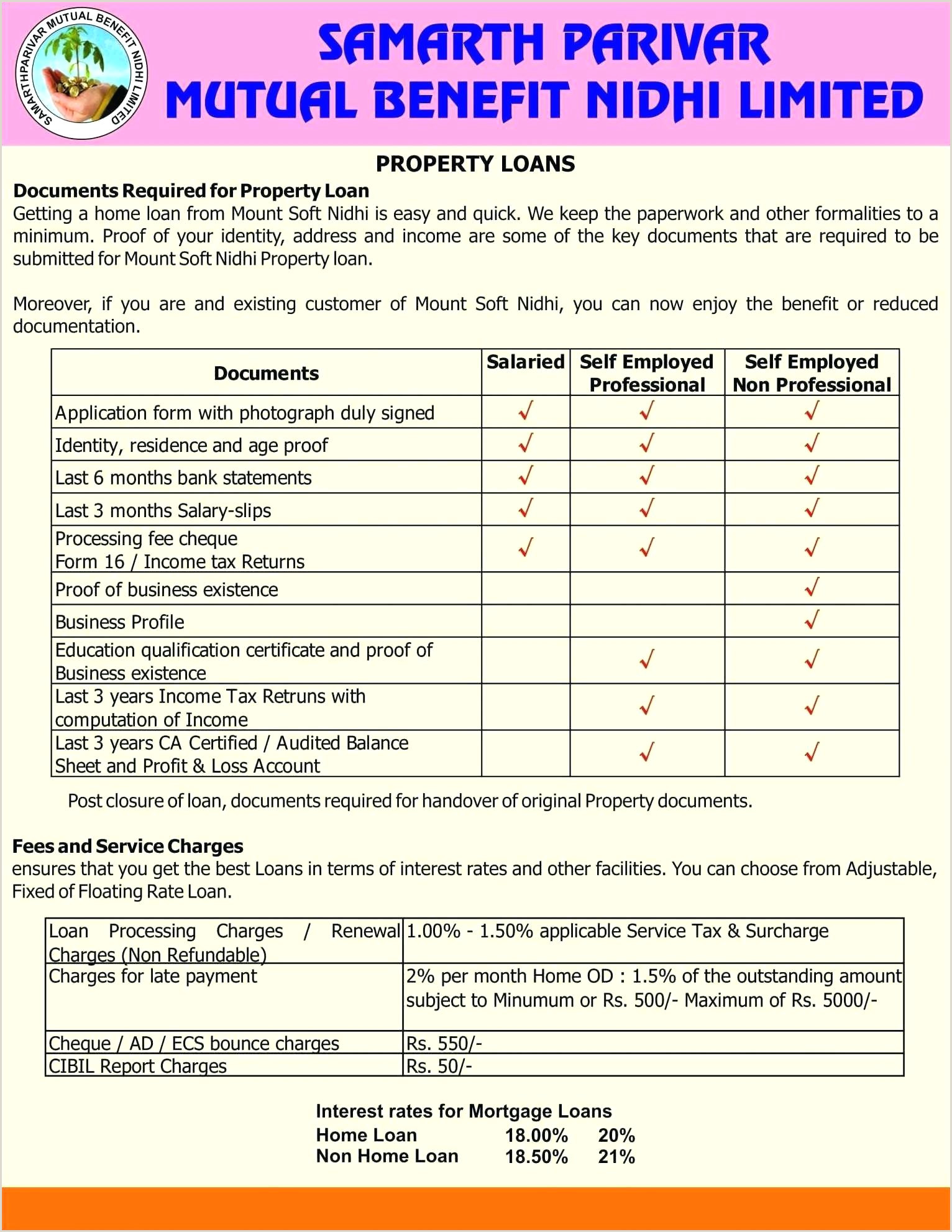 Self Employed Ledger form Template for Profit and Loss Statement for Self Employed