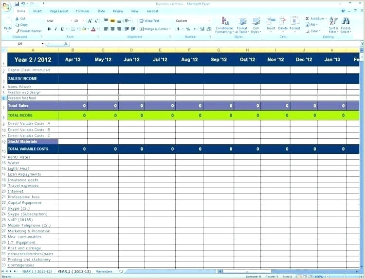 Self-employment Ledger Contract Employee Invoice Template Self Employment Excel