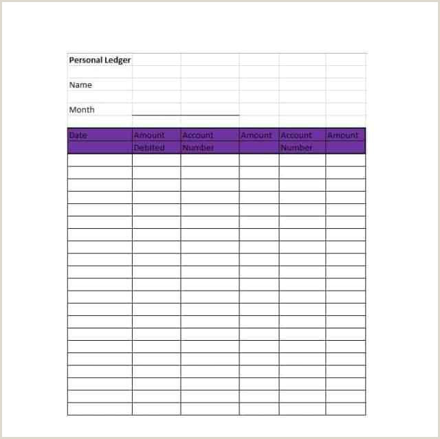 Self Employment Ledger form Self Employment Ledger Template Excel Hpcr