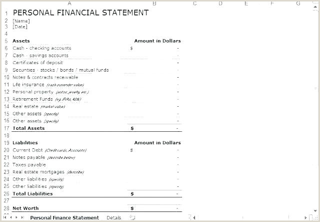 Self Employment Ledger Template Personal In e And