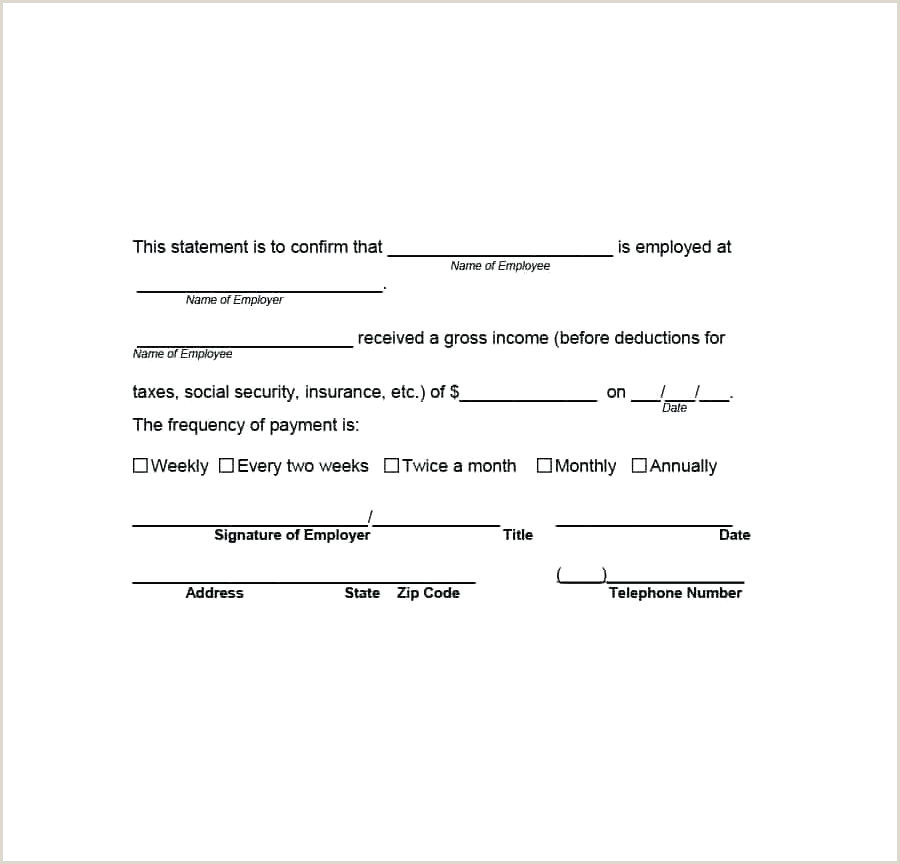 Self Employment Verification Self Employment Verification form and In E Loss Florida