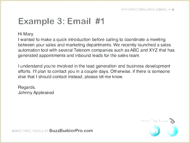 Self Introductory Email Business Introduction Email Template