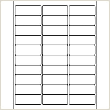 "Template for Avery 8160 Address Labels 1"" x 2 5 8"""