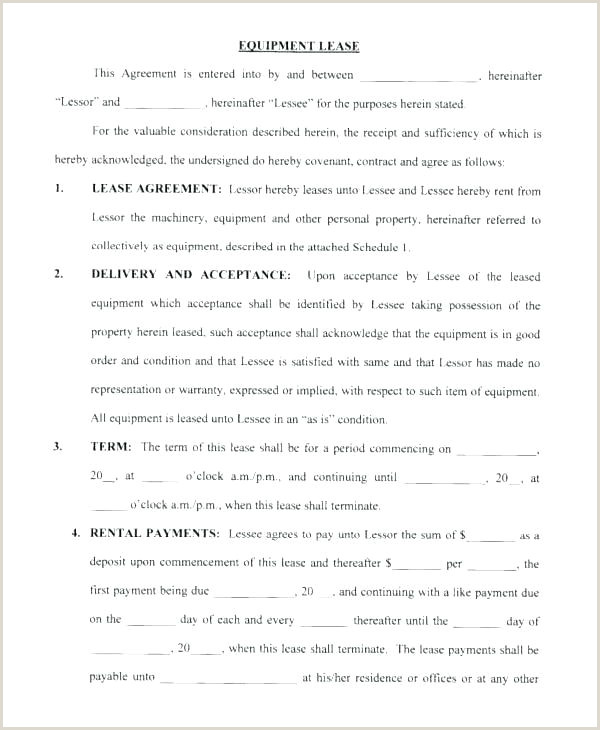 Semi Truck Lease Purchase Agreement form Fresh Lease Purchase Agreement Example Agreements Ideas