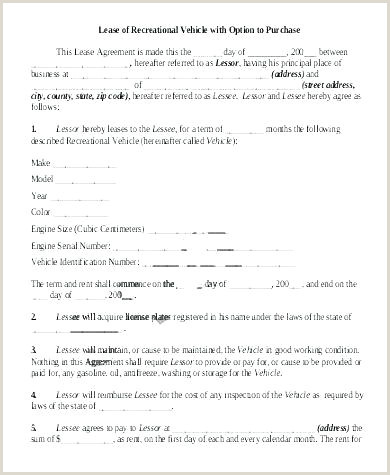 Semi Truck Lease Purchase Agreement form Lease Purchase Agreement Template