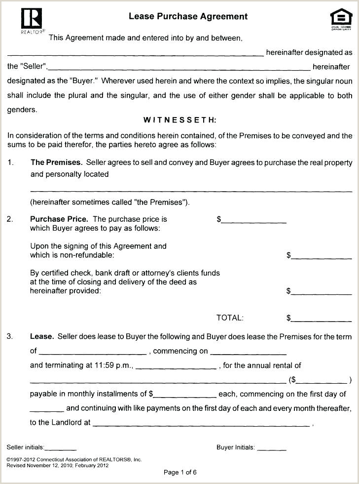Semi Truck Lease Purchase Agreement form Lease Purchase Contract Template Lease Option Template Lease